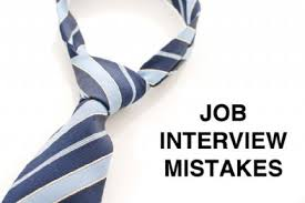 Major Interview Mistakes to Avoid