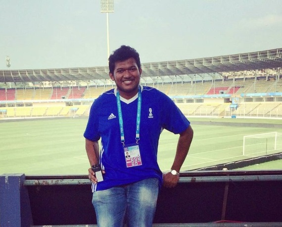 My experience at a Stadium Announcer for FIFA U17 World cup India 2017