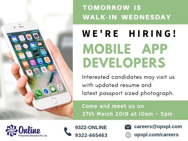 Tuesday Teaser – Mobile App Developers