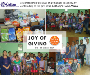 Celebrating the Joy of Giving Week