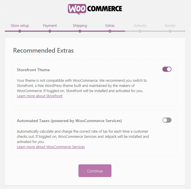 Creating an e-commerce site using WordPress