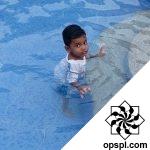 Sterren Having fun in water