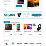 Electronic Shopping Template