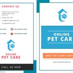 Pet Care Services Brochure Front