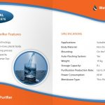Water Purifier Brochure Back